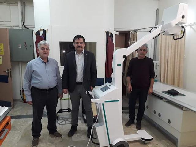 Νέο σύγχρονο φορητό ακτινογραφικό μηχάνημα στο Νοσοκομείο Ναυπλίου