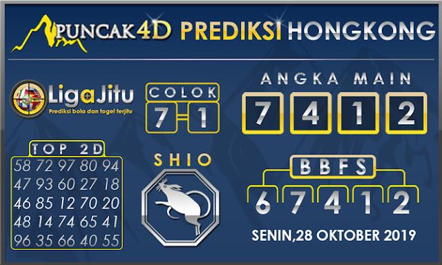 PREDIKSI TOGEL HONGKONG PUNCAK4D 28 OKTOBER 2019