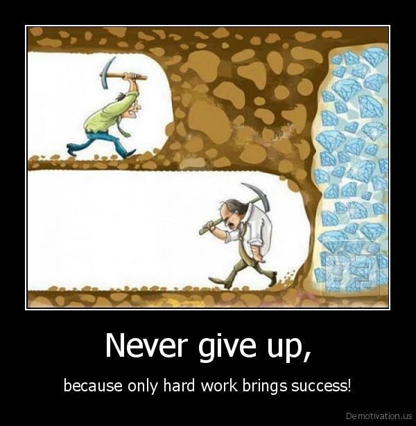 kesuksesan telah dekat, namun keputus asaan jauh lebih kuat