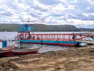 Balsa estrela nova recebe autorização já passa a transportar veículos de passeio em pão de açúcar Alagoas.
