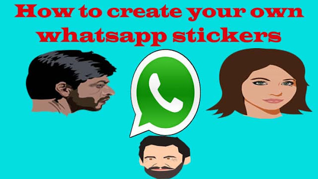 How to create your own whatsapp stickers