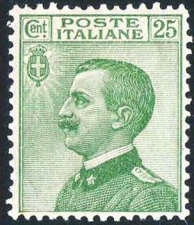 Italy 25 centesimi King Victor Emmanuel III