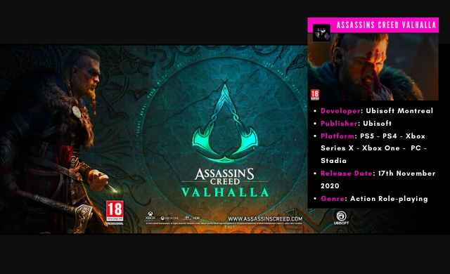 assassins creed valhalla ps4 gameplay