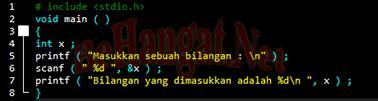 Input Output Bahasa Pemrograman C++ - BeHangat.Net