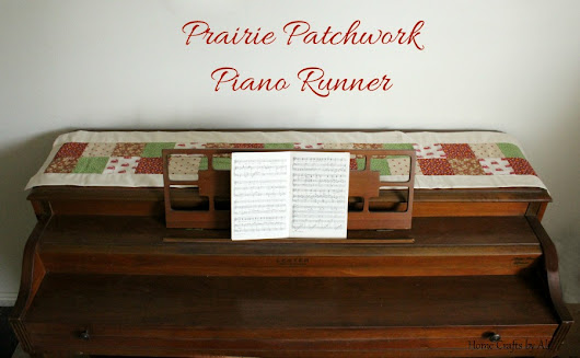 Prairie Patchwork Piano Runner