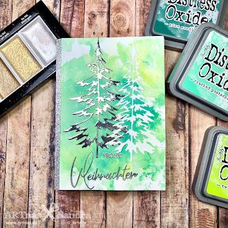 Last minute Weihnachtskarten 1/2