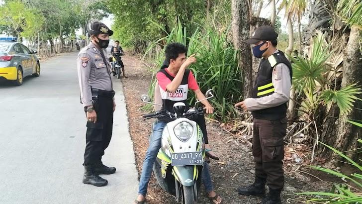 Terapkan Protokol Kesehatan, Aparat Kepolisian Gencar Melakukan Penindakan