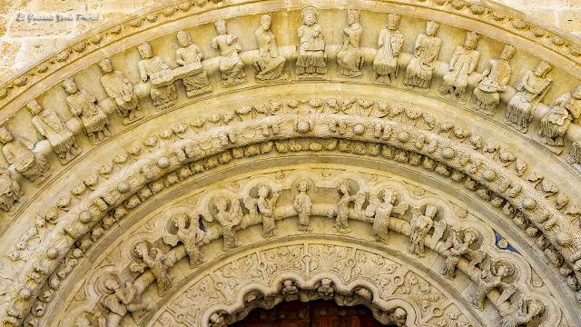 Portada Norte (detalle) - Colegiata de Santa María, Toro