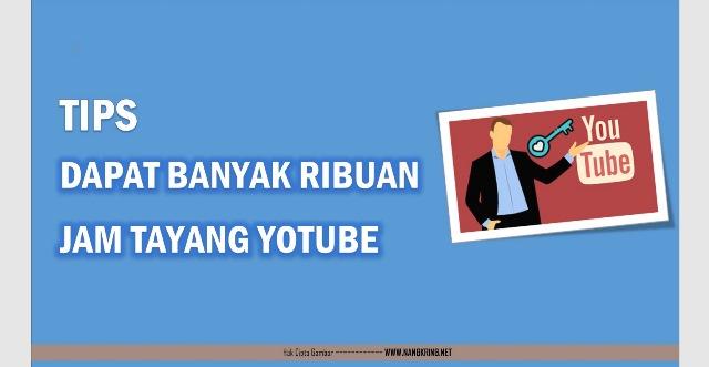 Tips Cepat Mendapatkan Banyak View Youtube Hanya dalam Waktu 1 Minggu