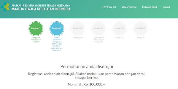 Metode Cara Pembayaran STR Online Via Bank