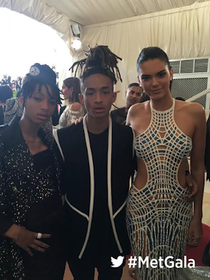 willow smith and jaden smith on the red carpet at met gala 2016