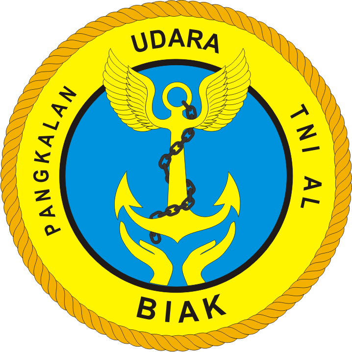Logo Lanudal Frans Kaisiepo Biak Pangkalan Udara Tni Angkatan Laut Logo Lambang Indonesia