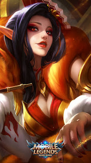 Aurora Foxy Lady Heroes Mage of Skins V4
