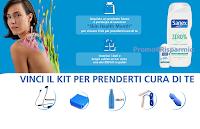 Logo Sanex ''Skin Health Month'' : in palio 200 kit con accessori per il tuo benessere