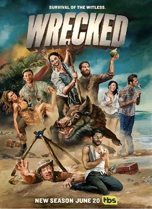 Wrecked - 3ª Temporada Séries Torrent Download capa