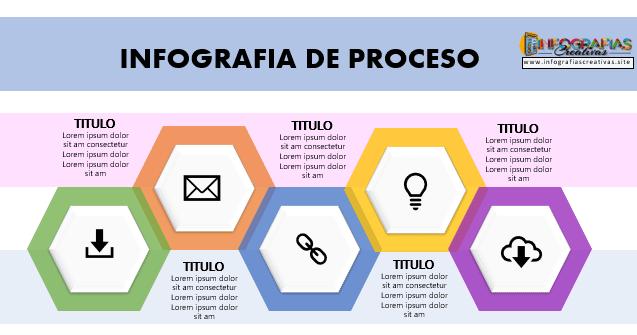 Plantilla de infografía en PowerPoint modelo 7
