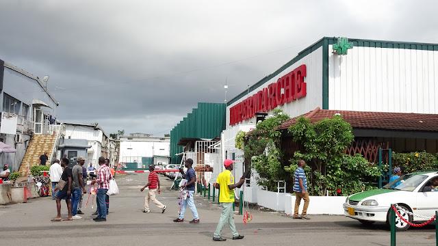 Very modern supermarket in Libreville