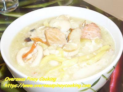Seafood Lomi Dish
