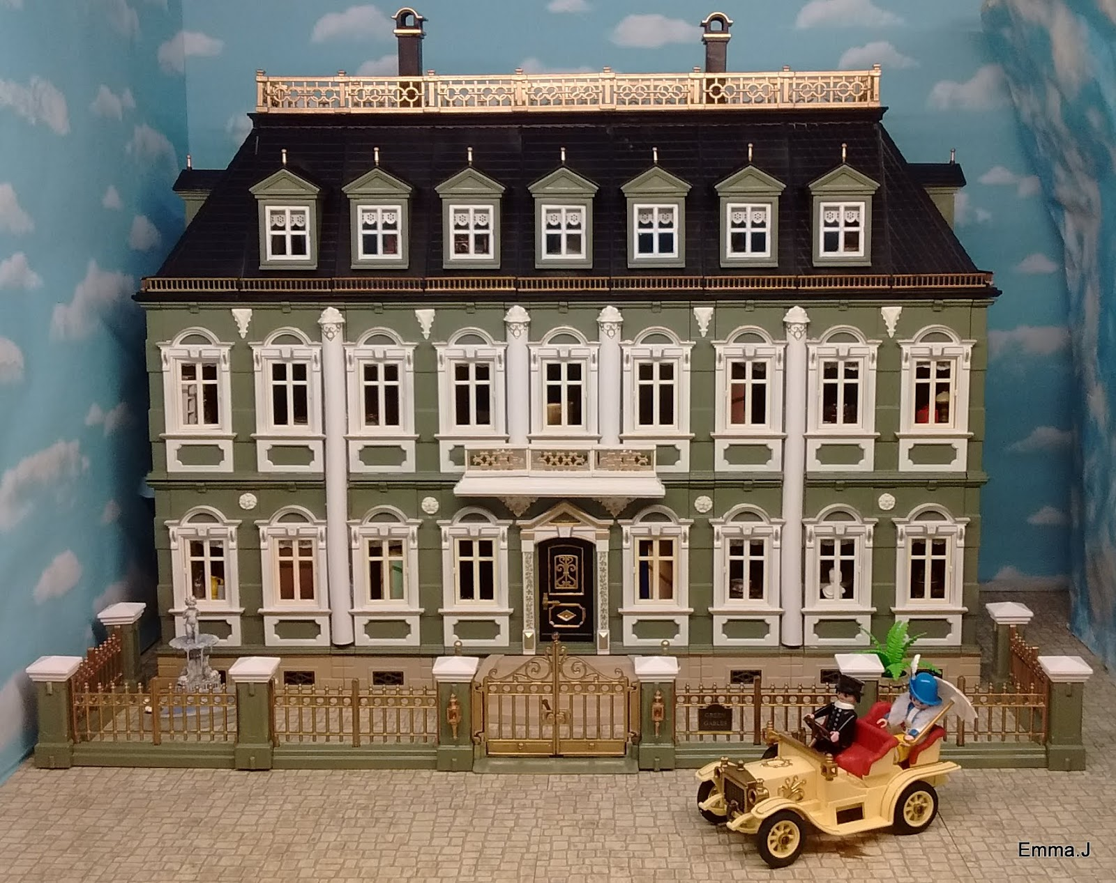 Custom Bedroom Classic Mansions Emma J S Playmobil