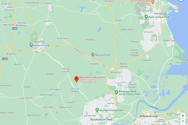 Wynyard Woodland Park : Map