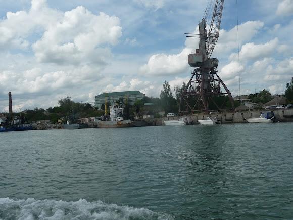 Генічеськ. Порт