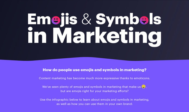 Emojis and Symbols in Marketing