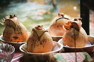 kelapa dibali untuk upacara adat