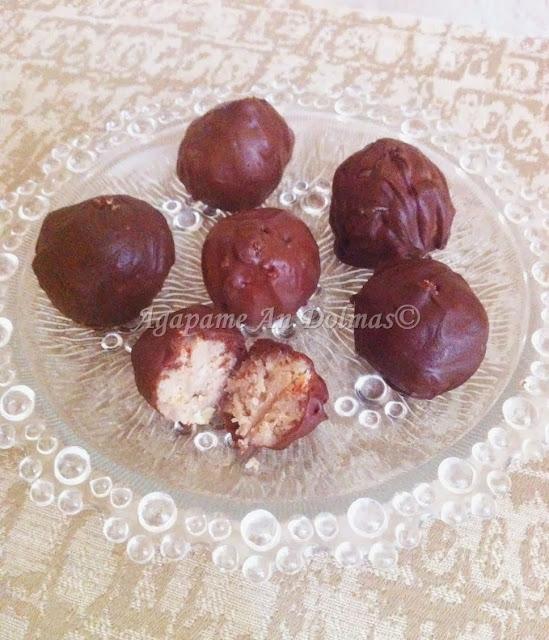 σοκολατακια καστανο