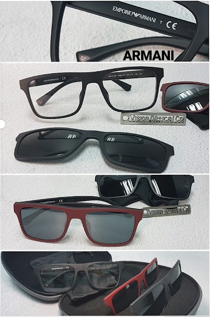 Armani EA4115F Clip On 太陽鏡眼鏡框