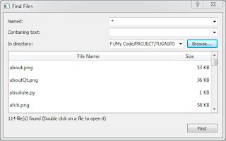 Source Code Untuk Membuat Menu Browse File Dengan Python Menggunakan Library PySide