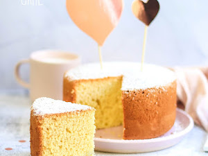 Chiffon cake - Recette parfaite !