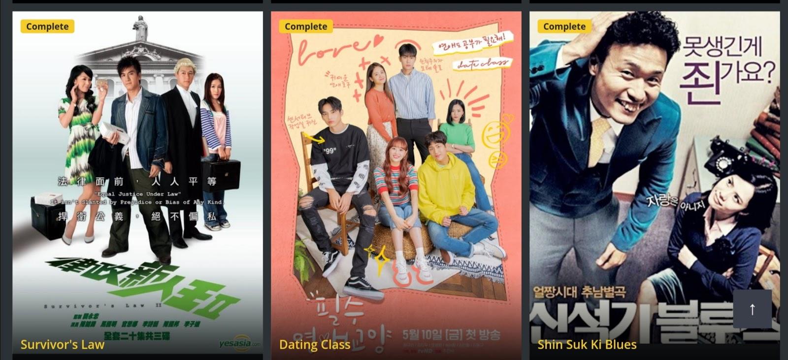 Asianrun Korean movie website