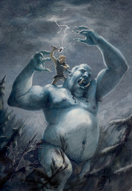 Andrew Spalding: Thor vs Jotun