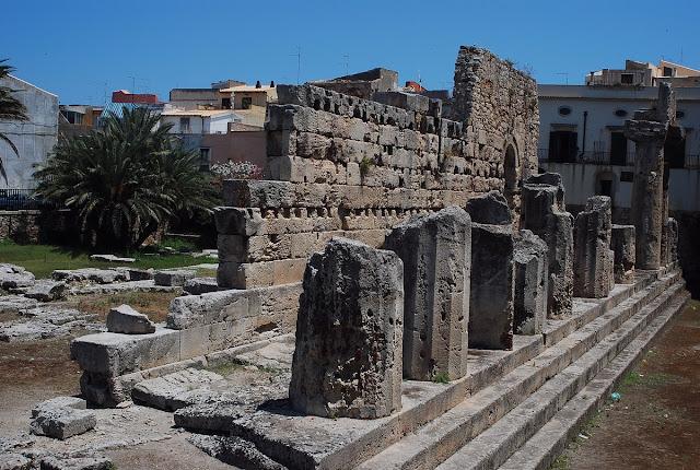 temple Apollon Syracuse