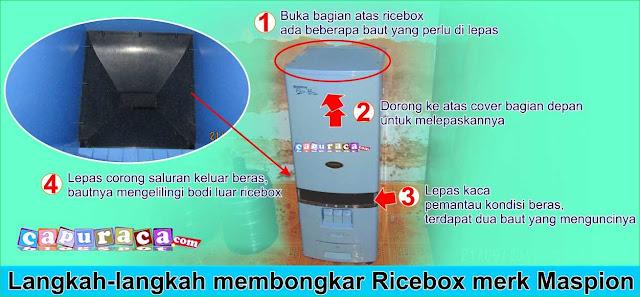 Memperbaiki Rice Box yang bocor
