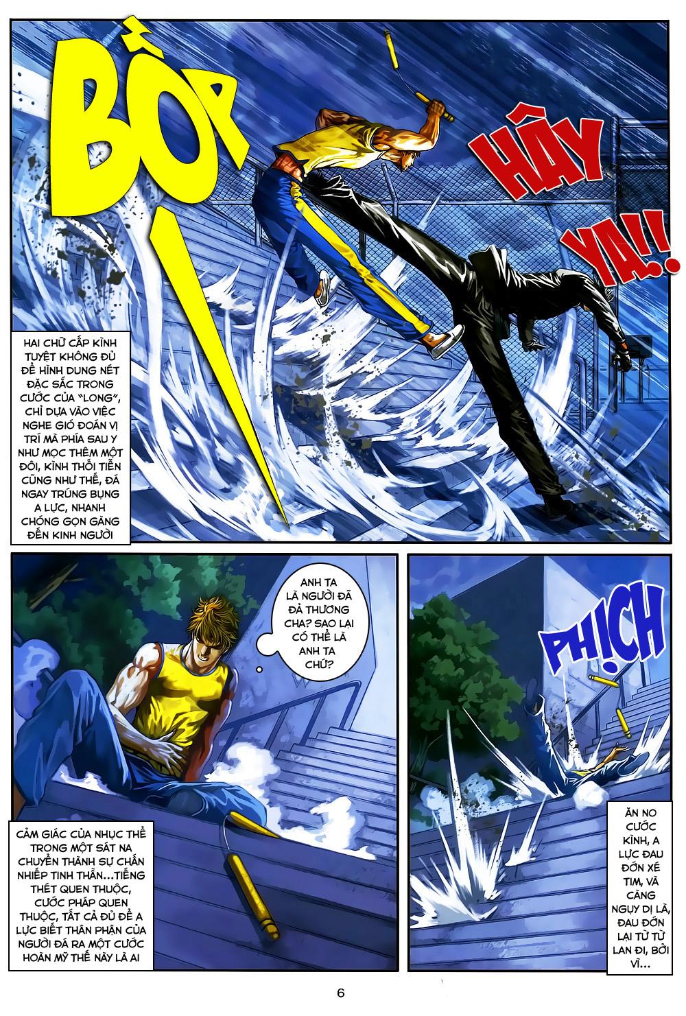 Quyền Đạo chapter 5 trang 6