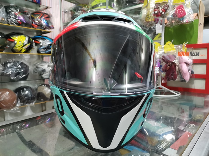 clear flat visor kyt TT Course