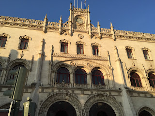 Rossio Station in Lisbon