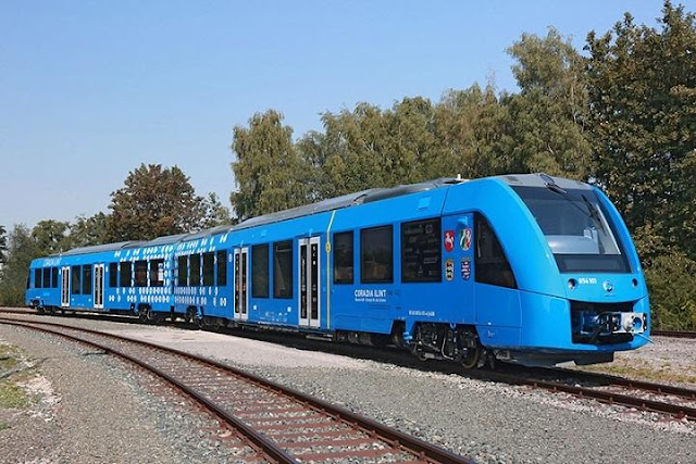 World's first zero-emissions hydrogen train unveiled in Germany.