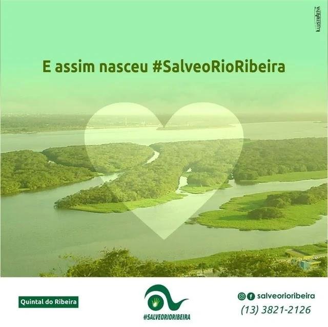Como começou a Campanha Salve Rio Ribeira