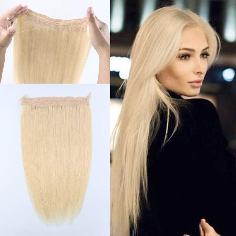 16 inch Halo Human Hair Extensions  30% off