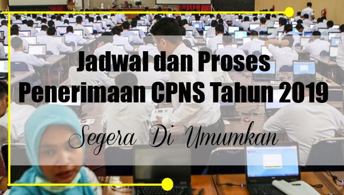 Jadwal Penerimaan CPNS 2019