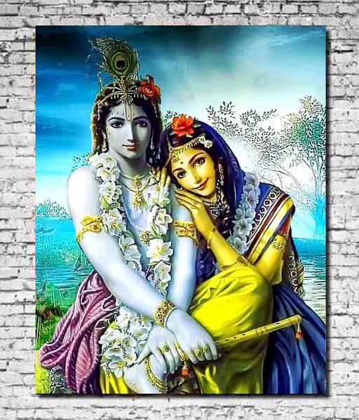 50+ Best Radha Krishna Paintings By Best Indian Artists