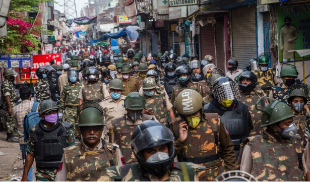 Virus Corona: India Lockdown, 1,3 Miliar Dikarantina Tiga Pekan