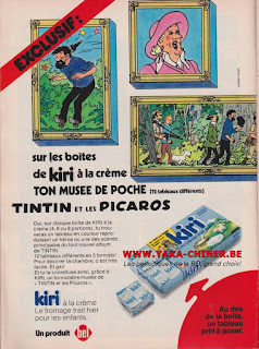 Publicité Tintin