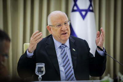 Rivlin convida Netanyahu e Gantz para a reunião noturna