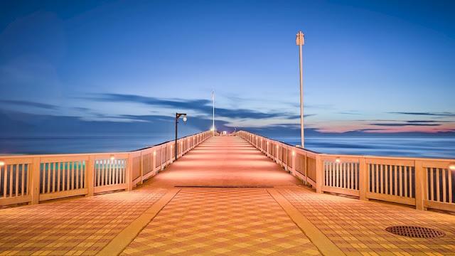 Sunset at Landmark on Panama City Beach