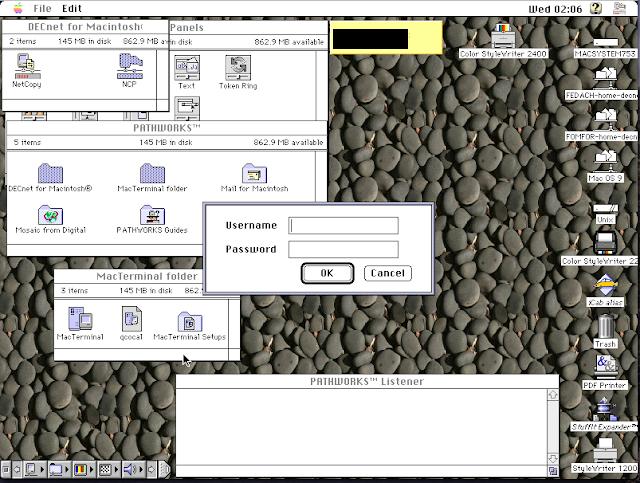 DECnet for Macintosh: Thursby Software TSSnet for Macintosh: Copy node database - Screen 3