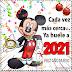 Navidad,  dibujos de Mickey Mouse 2021