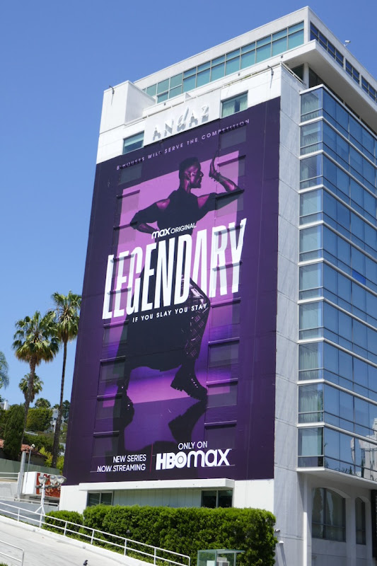 Giant Legendary series premiere billboard